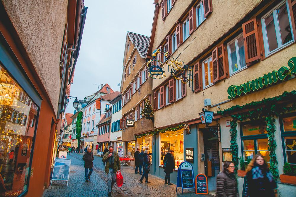tübingen germany christmas winter