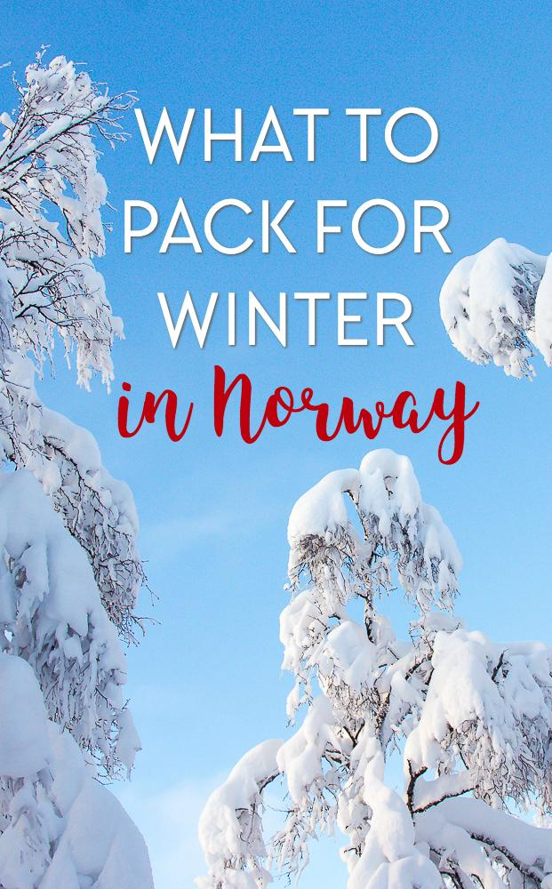 What to Pack for Winter in Norway - Heart My Backpack