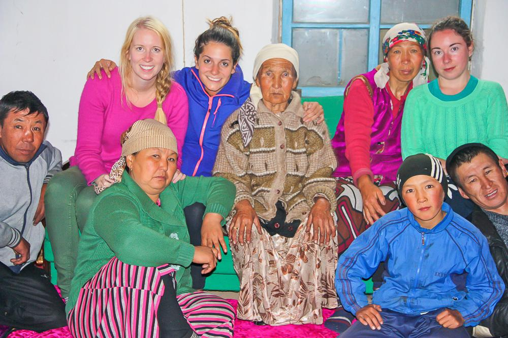 host family krygyzstan sary tash