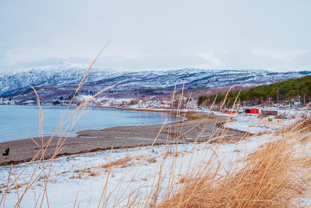 narvik norway winter snow