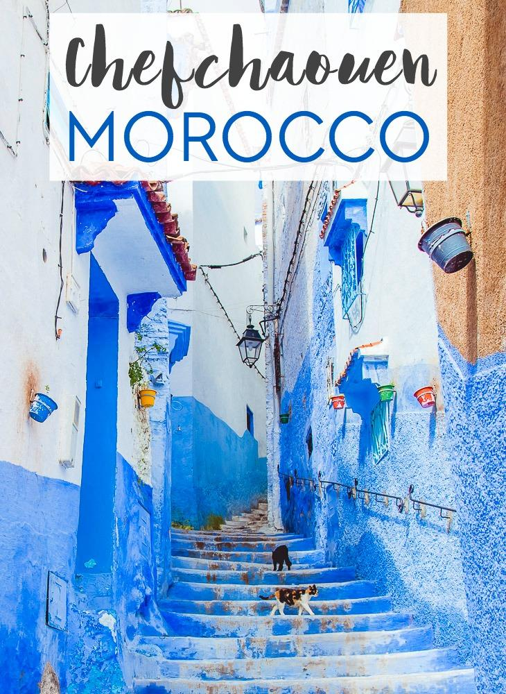 "Is Morocco's blue city, or ""blue pearl,"" really worth a visit? Here's my answer about travel to Chefchaouen (plus some practical tips about visiting!)"