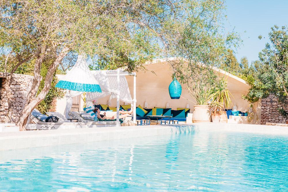 villa maroc gardens pool essaouira morocco