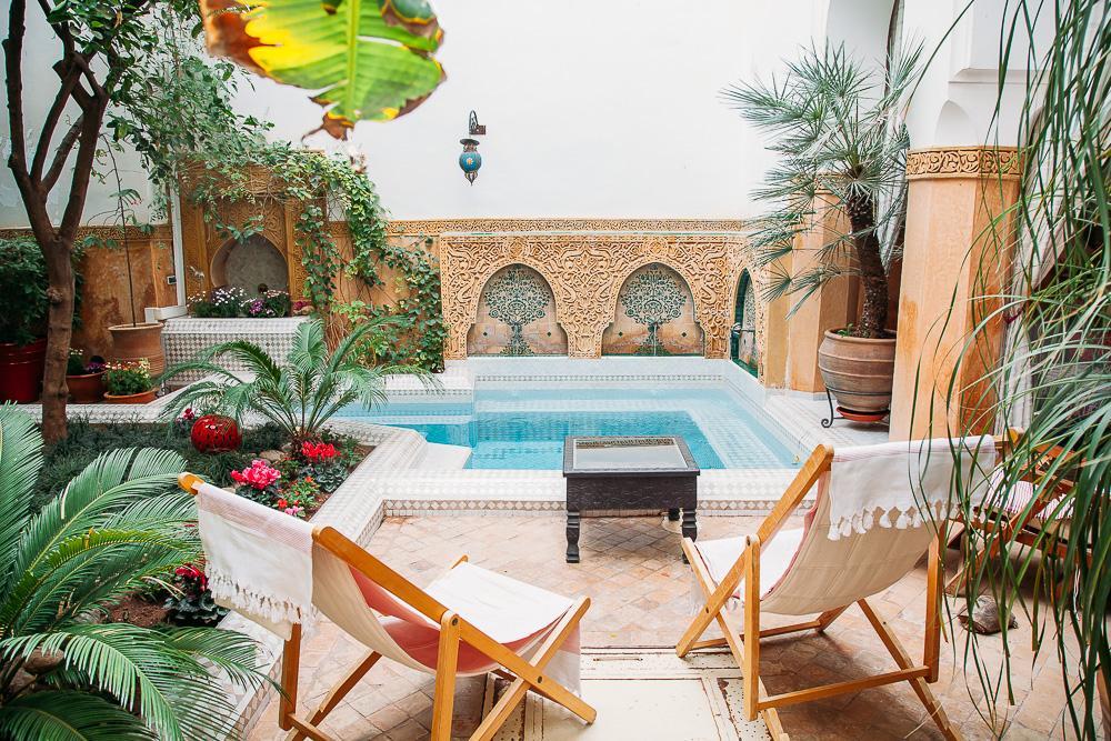 riad dombaraka marrakech morocco pool