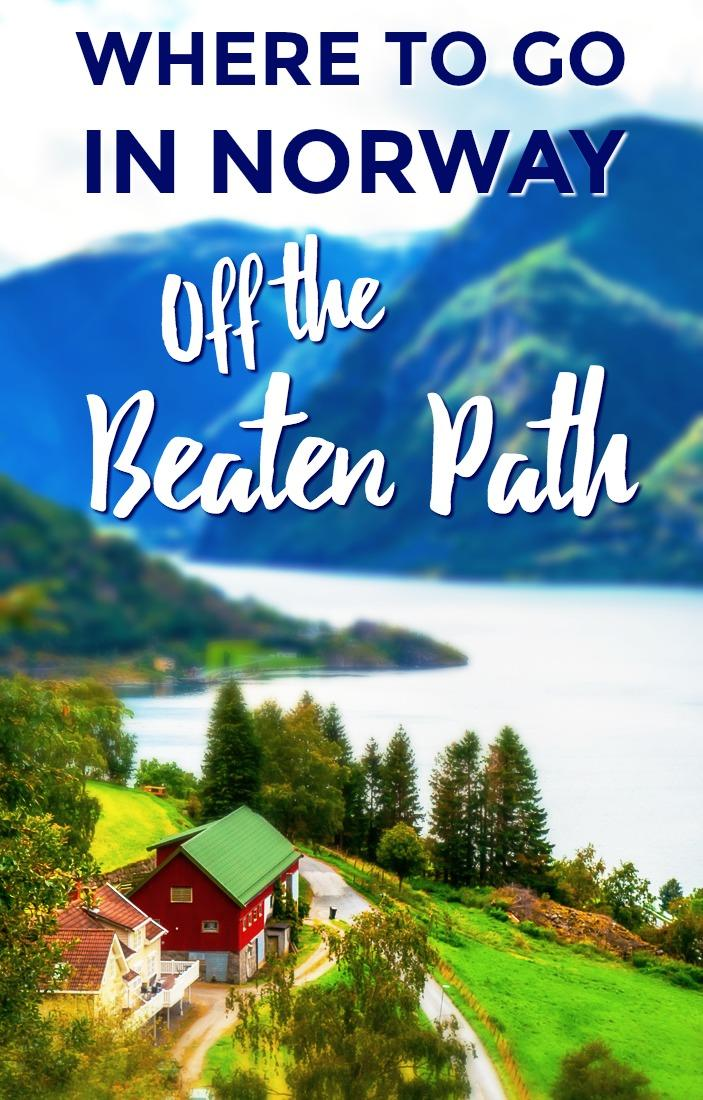 If you want to get away from the tourist crowds in the Norwegian fjords this summer, here are some beautiful off the beaten path destinations in Norway worth a visit.