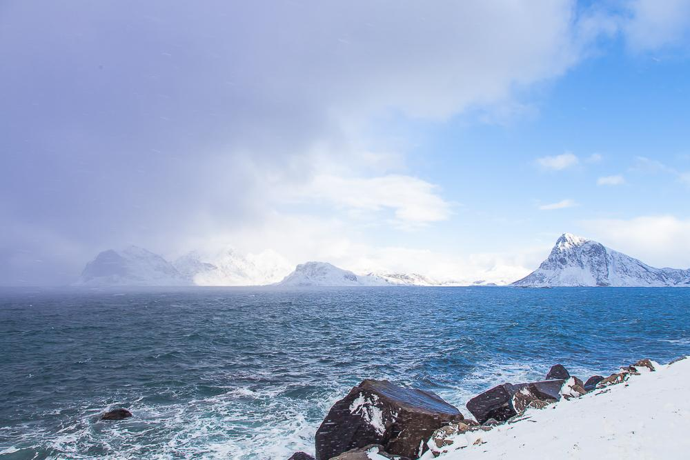 weather lofoten march winter norway