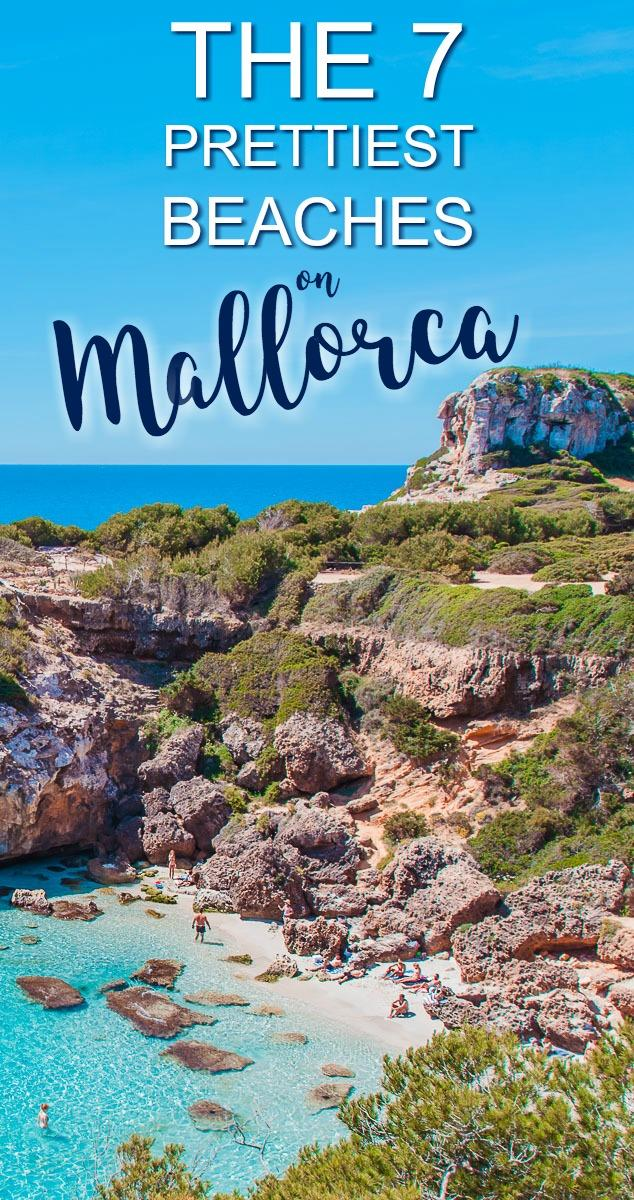 After two weeks in Mallorca, here are my picks for the prettiest and best beaches in Mallorca: