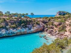 Es Calo des Moro Beach, South Mallorca