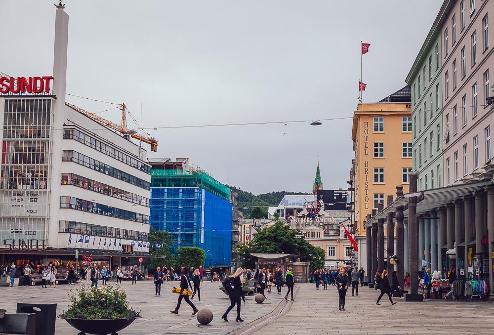 bergen city center norway