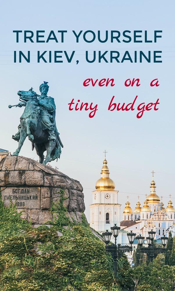Kiev, Ukraine is the perfect place for a luxury European holiday, especially if you're on a small budget. Here are some of my favorite things to do in Kiev, Ukraine when I want to indulge: