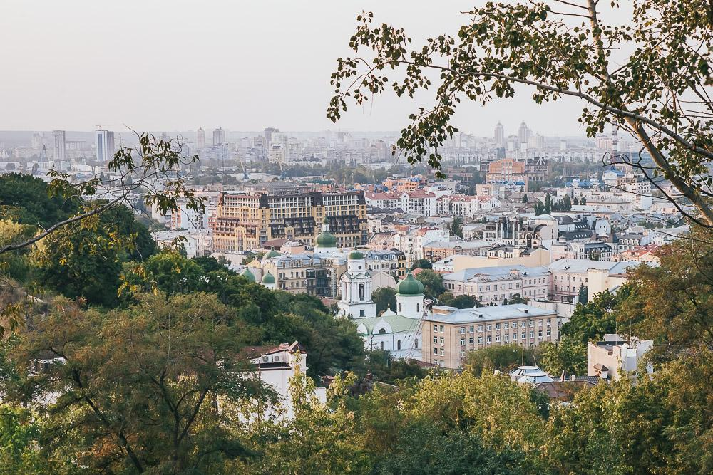 city view kiev ukraine