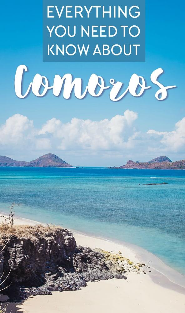 A complete travel guide to the Comoros Islands - everything you need to know about planning a trip to East Africa's island beach paradise
