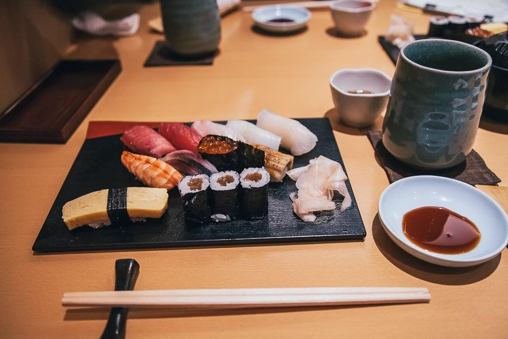 sushi ikki tokyo