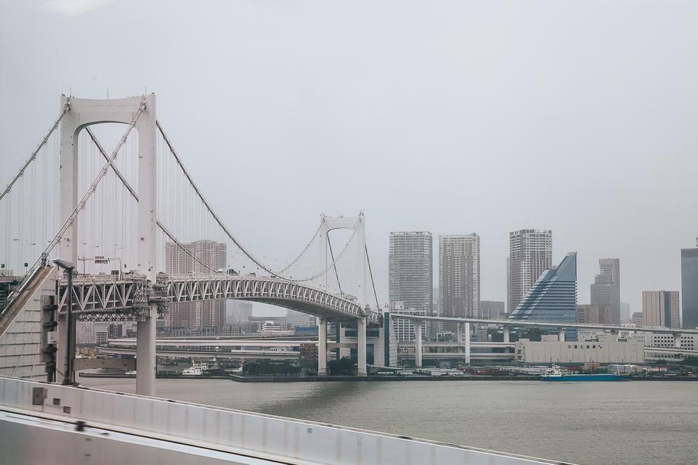 rainbow bridge hato bus tour tokyo