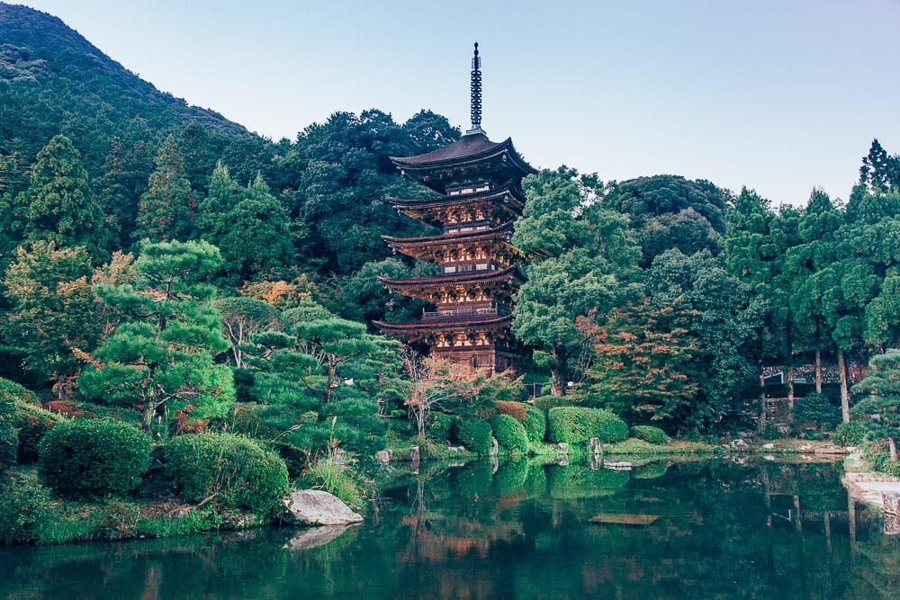 Ruriko-ji Temple Pagoda yamaguchi