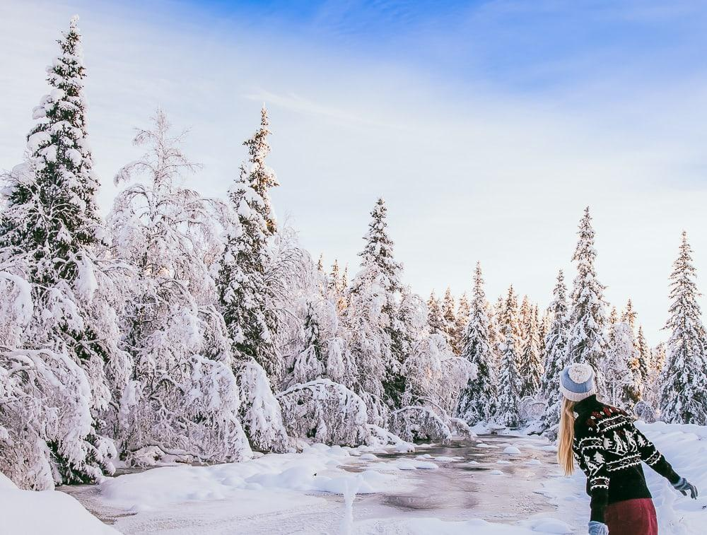 winter rauland telemark norway snow
