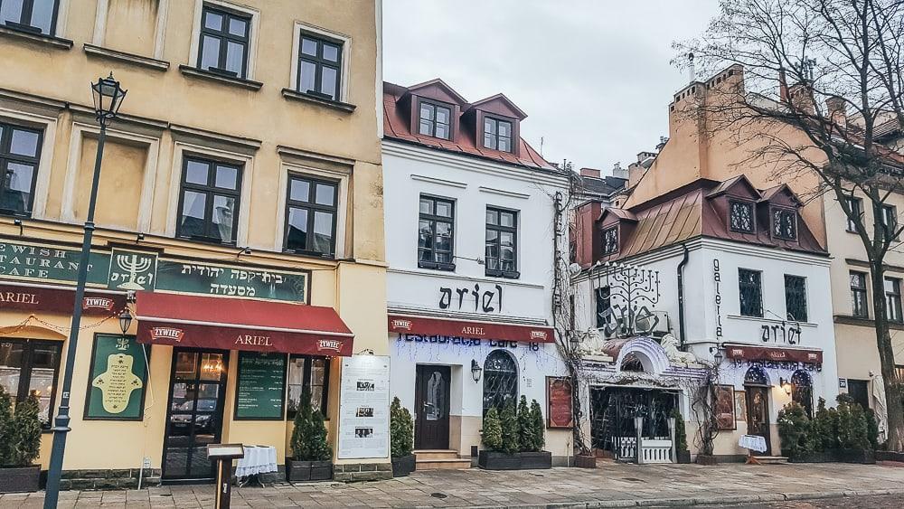 kazimierz krakow old Jewish quarter