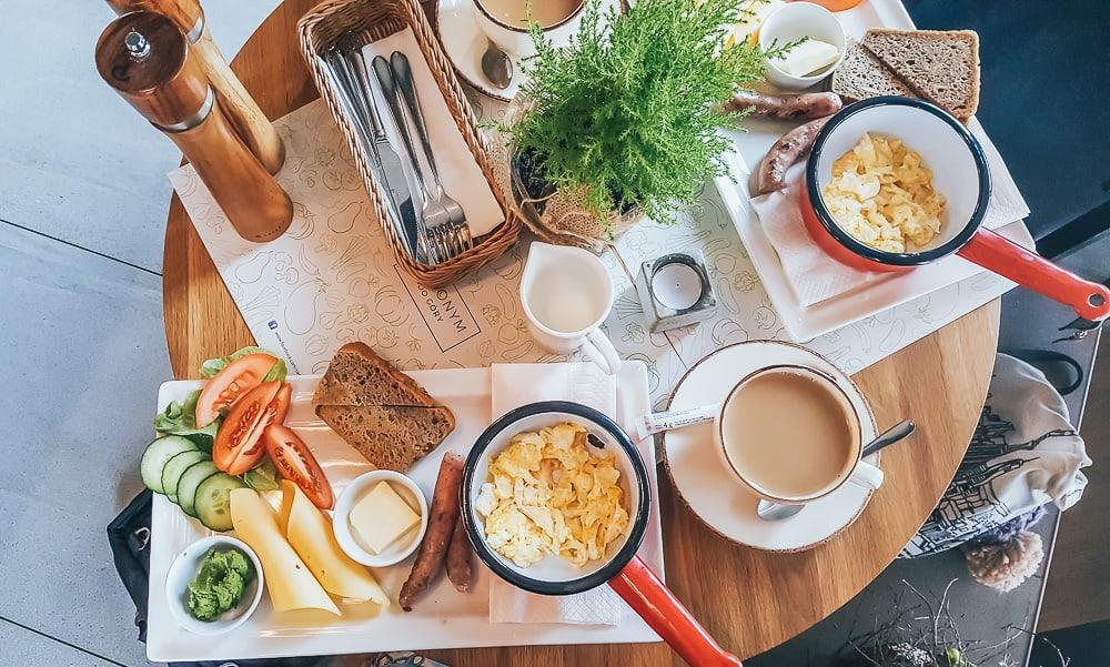 zielonym do gory krakow breakfast
