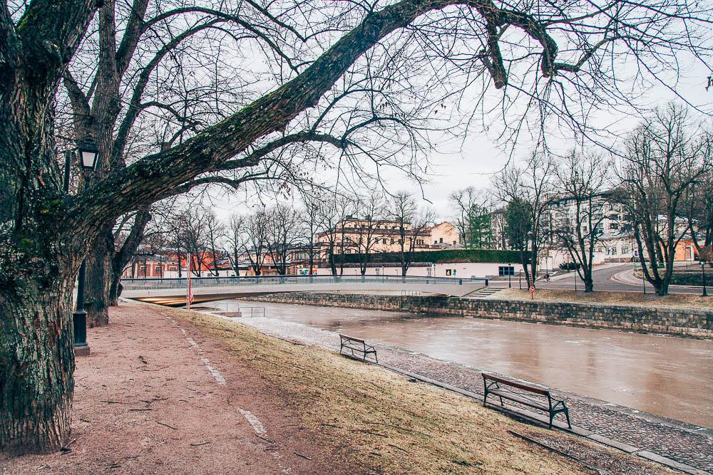 winter in turku, finland