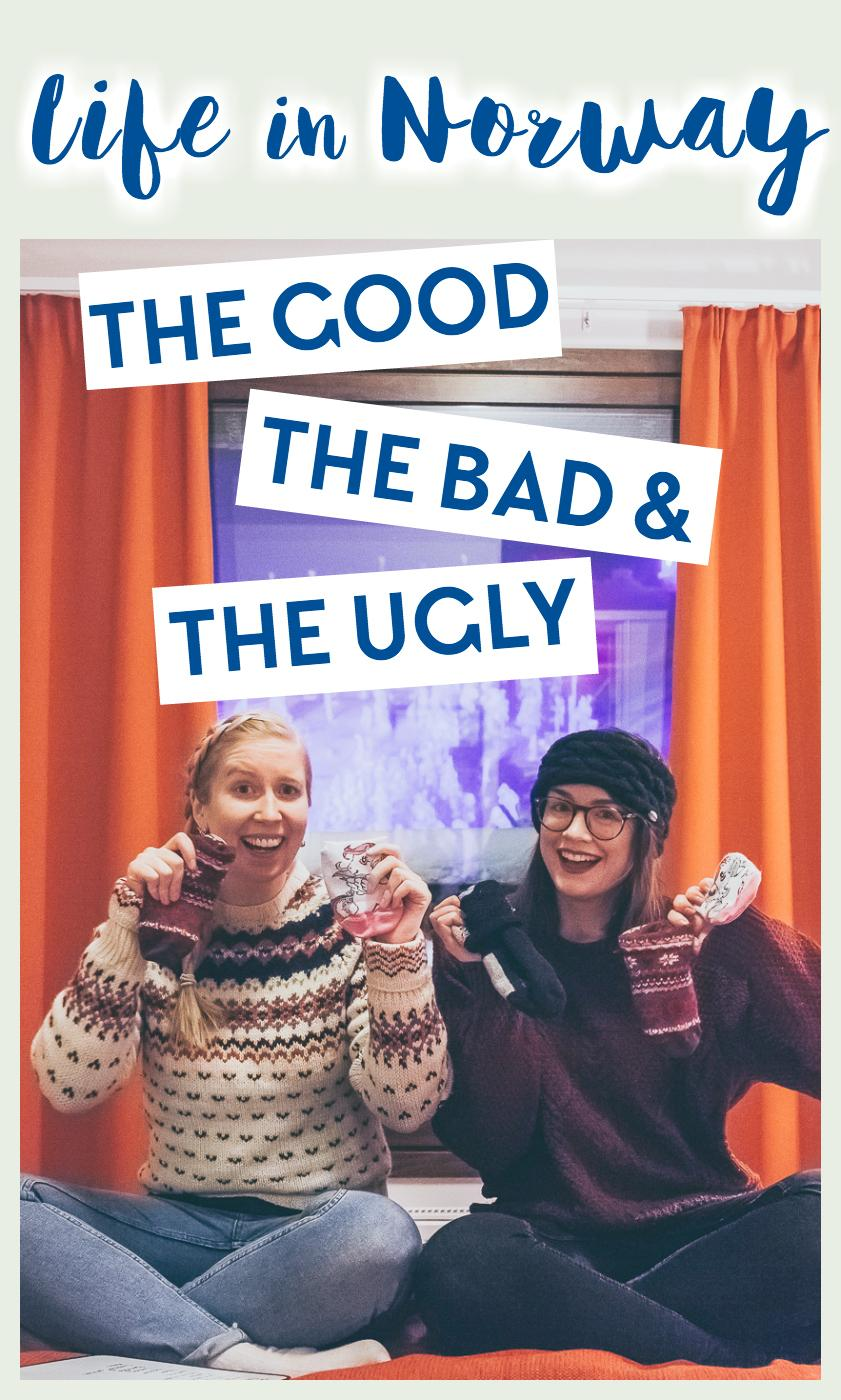 My friend Vanessa and I recorded a video about life in Norway - the good, the bad, and the ugly parts!