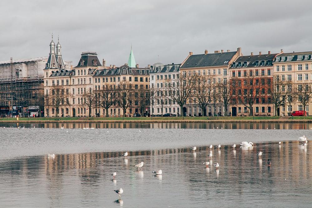 copenhagen winter frozen river