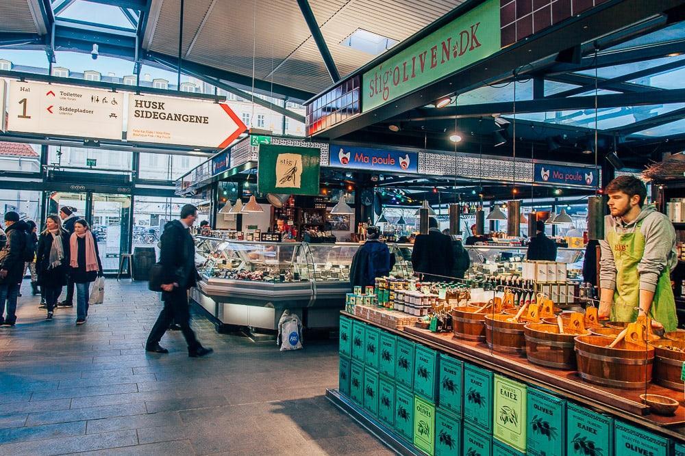 torvehallerne food market halls copenhagen