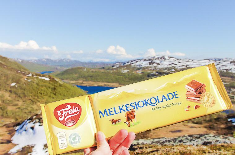 norwegian milk chocolate freia