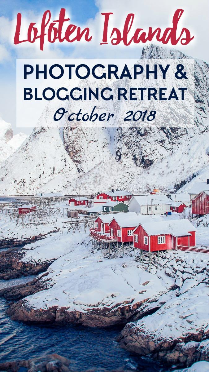 Join us on a photography tour and blogging retreat on the Lofoten Islands in Norway in October 2018!