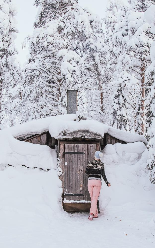 Visiting Ruka Kuusamo in Finnish Lapland in winter