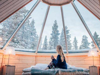 Staying in a Northern Lights Cabin in Finland Is Just As Magical As You Think