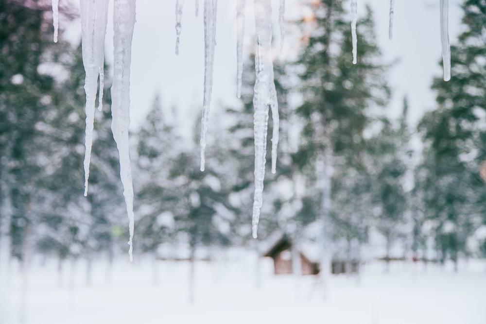 january saariselka inari finland
