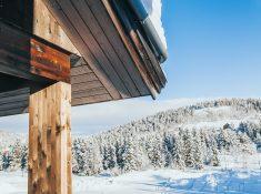 rauland telemark norway winter snowy mountains norway