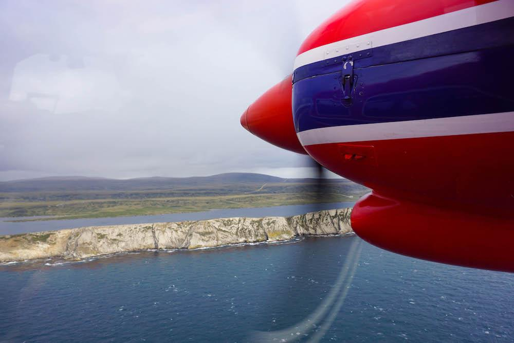 Getting to the Falklands