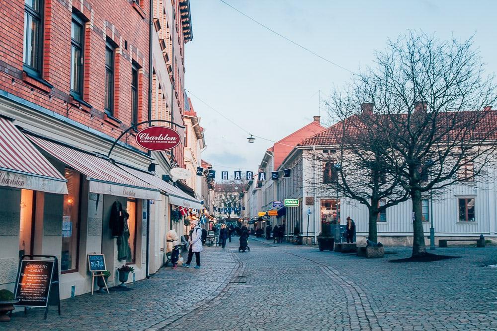 haga gothenburg in winter