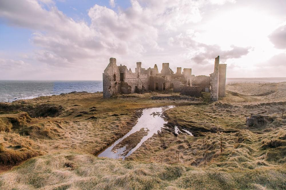 new slains castle cruden bay aberdeenshire