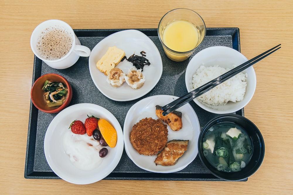 japanese hotel breakfast sakaiminato dormy inn
