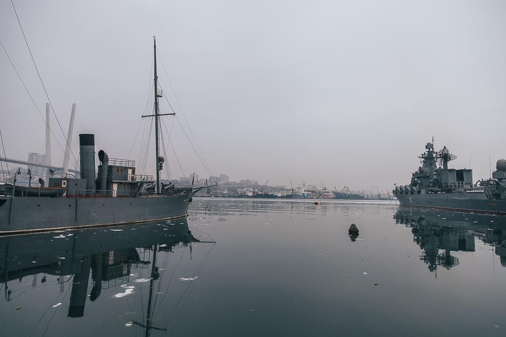 vladivostok harbor