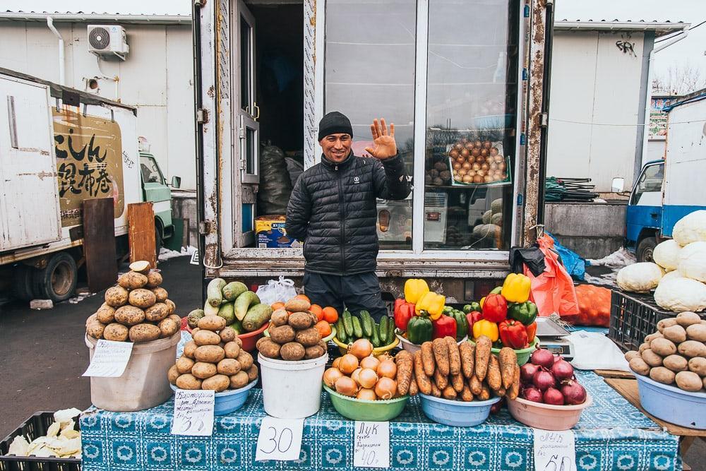 sportivnaya market in vladivostok russia far east