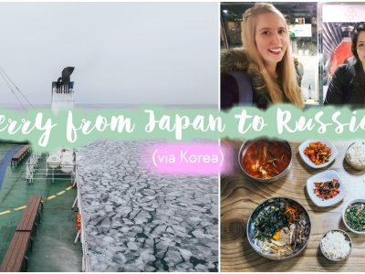 taking the ferry from japan to russia via korea