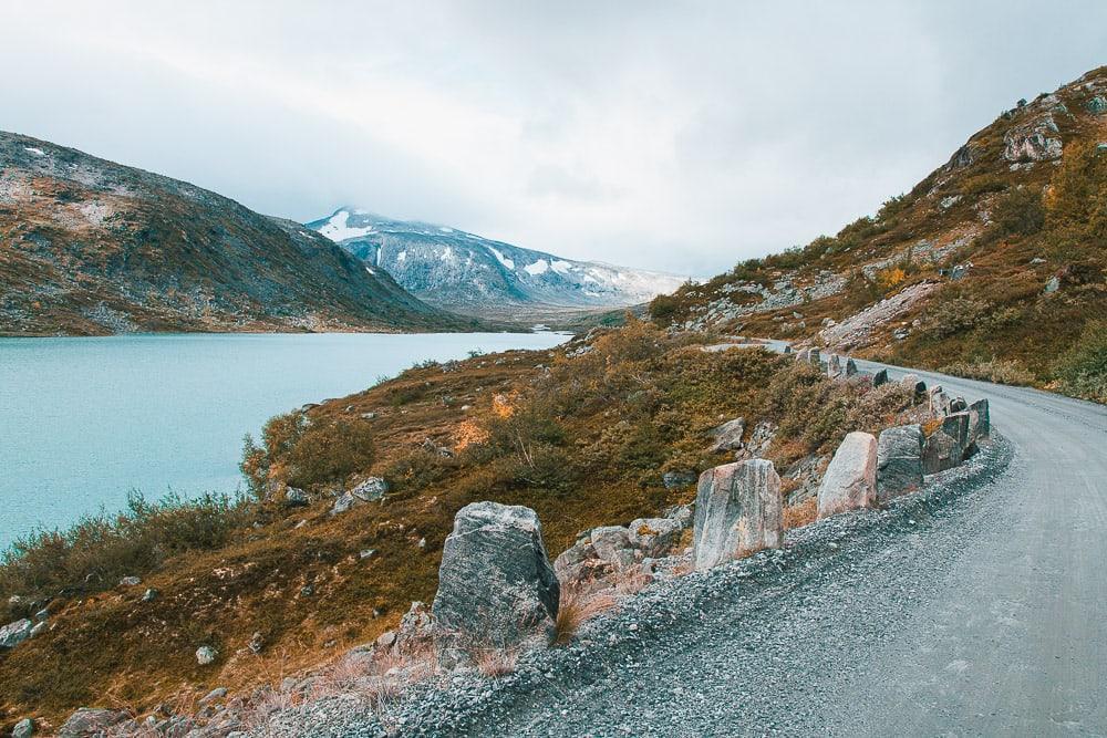 Gamle Strynefjellsvegen tourist road norway