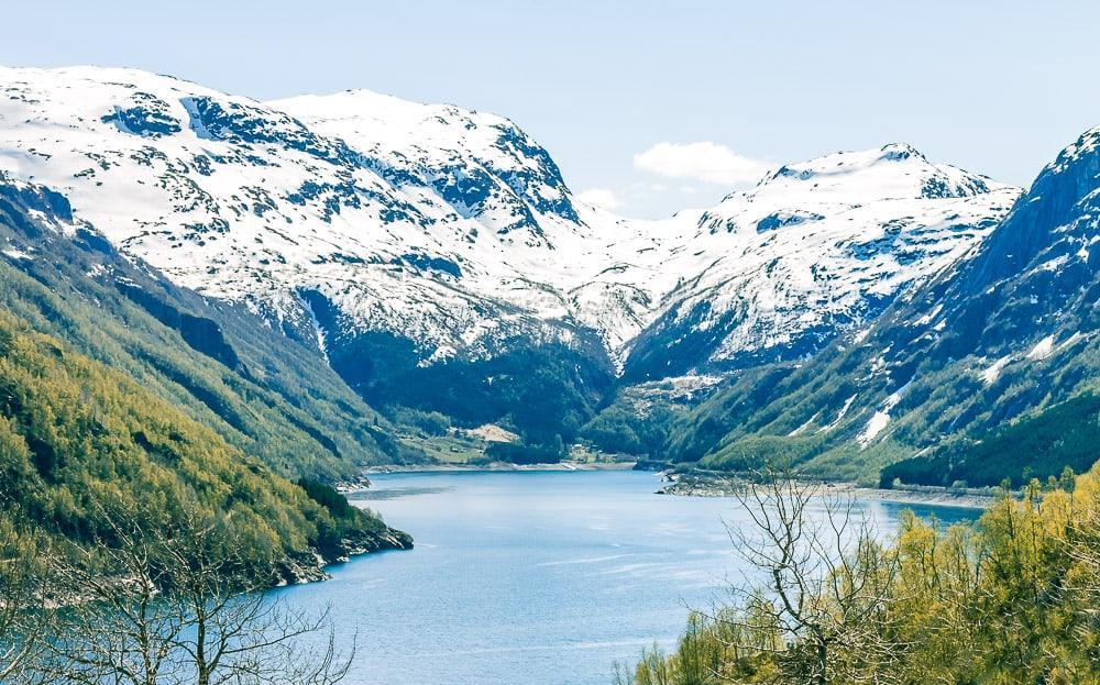 rauland haukeli odda hardangerfjord drive