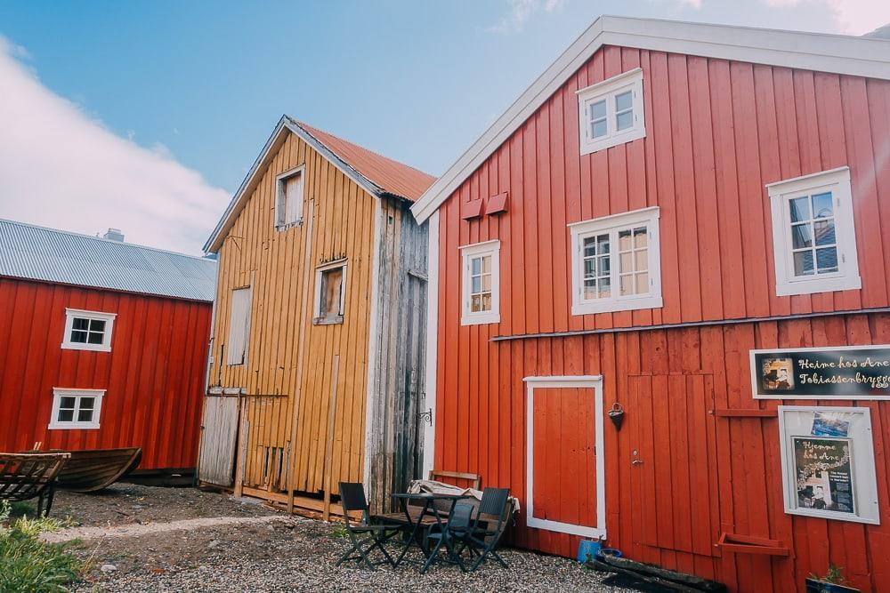 sjøgata mosjøen history center helgeland northern norway