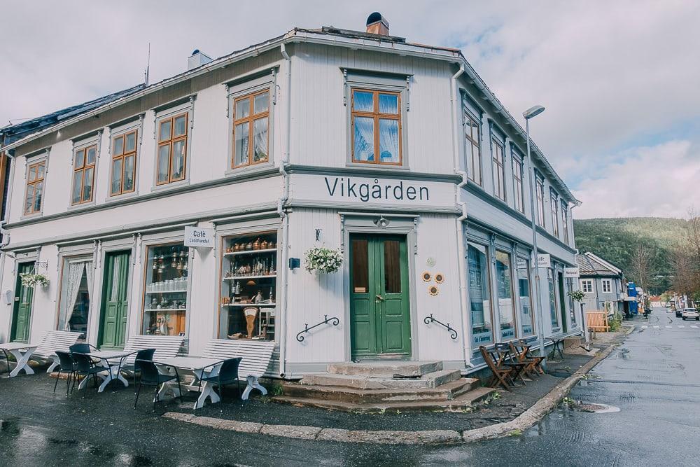 vikgården cafe mosjoen helgeland norway