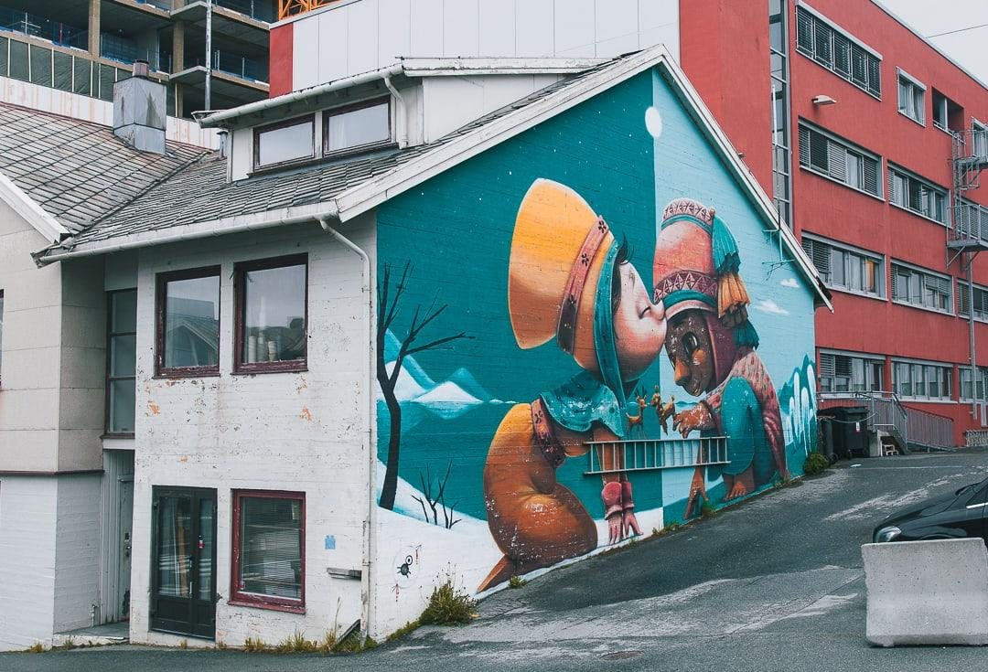 street art in bodo norway