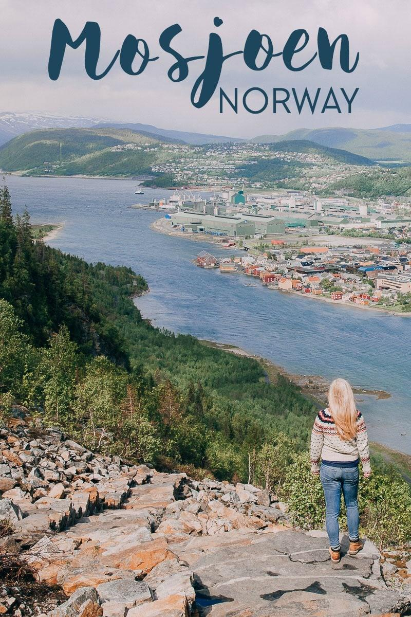 Mosjøen Norway is an idyllic town in Helgeland, Northern Norway - here's why you should visit Mosjøen, what to do and see while there, where to eat, and where to stay in Mosjoen