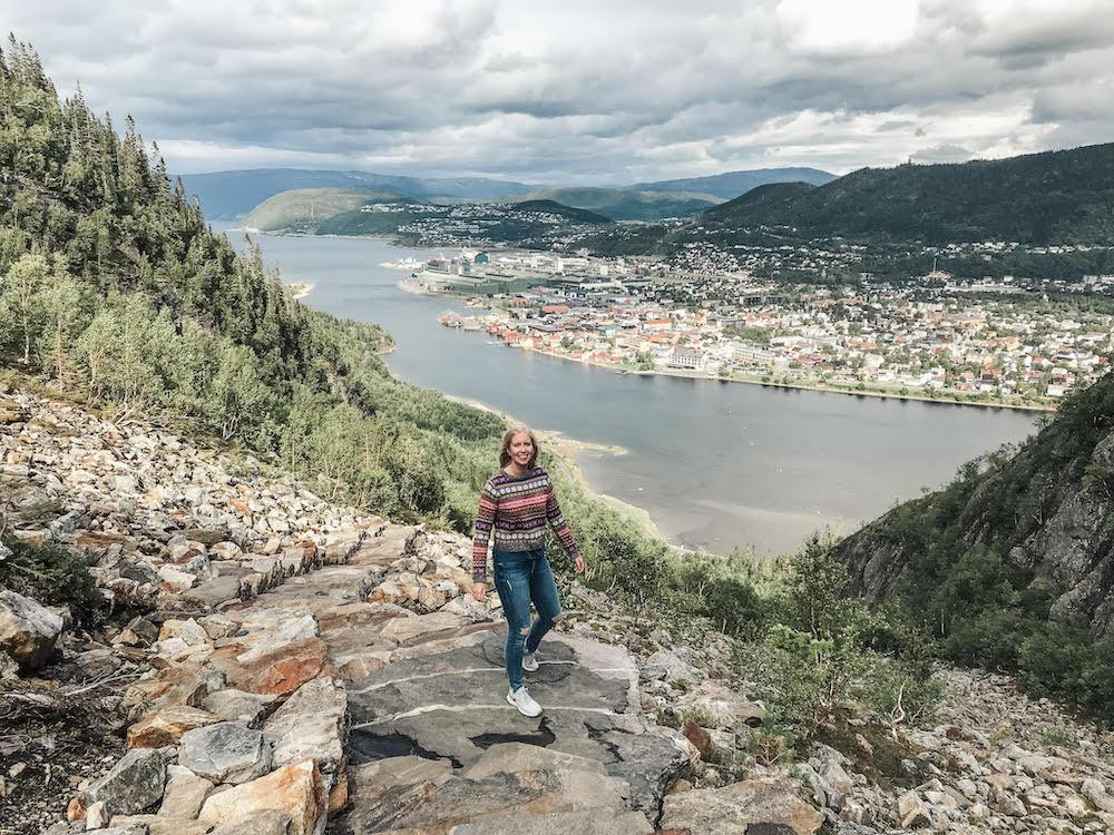 helgelandstrappa sherpa steps Mosjøen norway