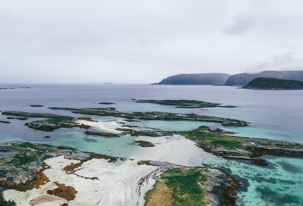 Sommarøy Tromsø northern Norway beaches