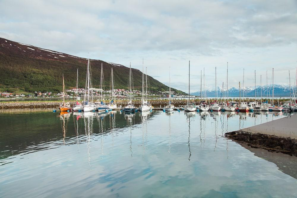 tromsø harbor norway