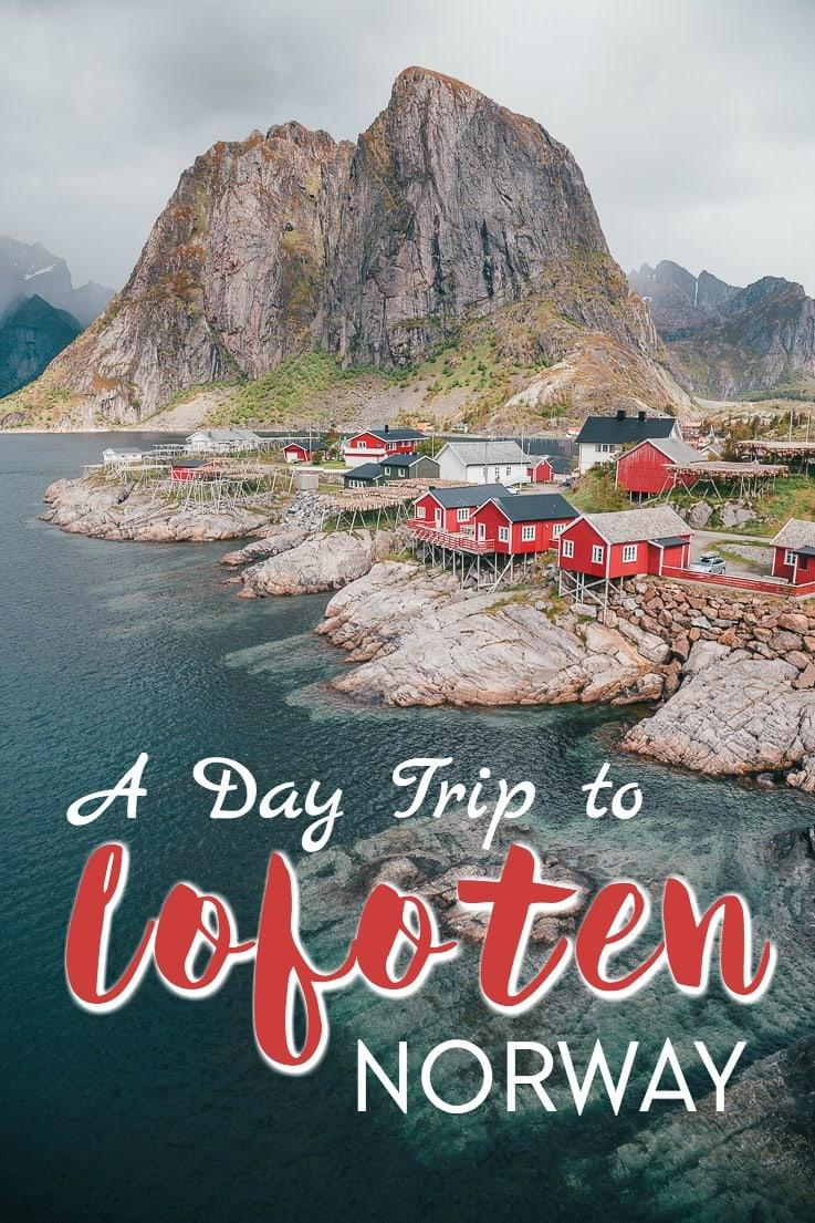 While the Lofoten Islands of Norway are amazing and you could spent weeks exploring them, it is also possible to do a day trip to Lofoten, if you're on a tight schedule for your Norwegian itinerary