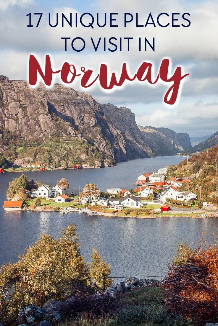 The best places to visit in Norway if you want a unique experience away from the crowds