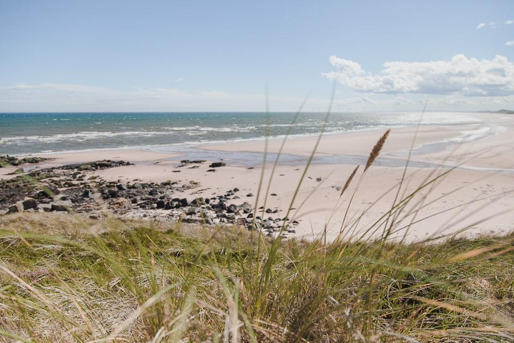 forvie sands beach aberdeen scotland